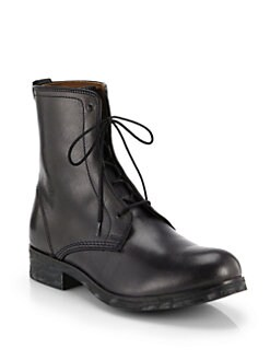 Diesel - Riot Johnny Lace-Up Leather Boots