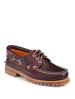 Timberland Boot Company - Heritage Three--Eye Classic Lug Boat Shoes