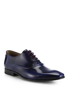 Paul Smith Starling Leather Lace-Up Shoes