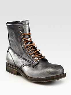 Diesel - Brave Nation Lace-Up Boots