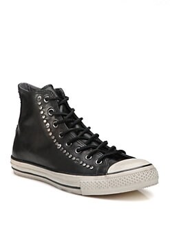 Converse - John Varvatos Studded Leather High-Tops
