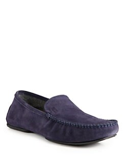 BOSS Black - Remor Suede Slip-On