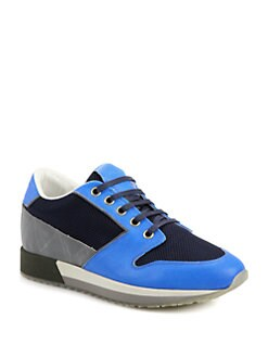 Marc Jacobs - Leather/Suede/Mesh Sneakers