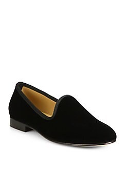 Del Toro - Velvet Slipper Shoe