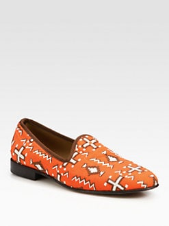 Del Toro - Tribal Canvas Slipper Shoe