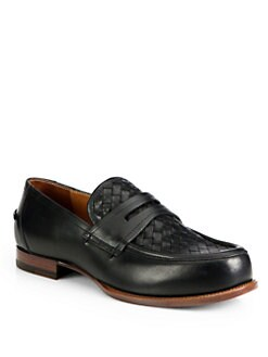 Bottega Veneta - Woven Leather Loafer