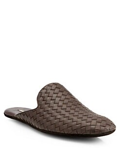 Bottega Veneta - Woven Leather Slipper