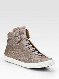 Jimmy Choo - Albion High-Top Lace-Ups