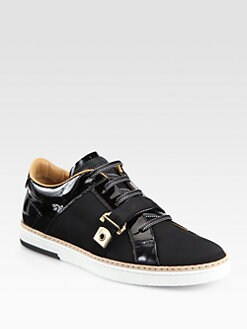 Jimmy Choo - Deacon Lace-Up Sneakers