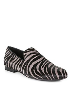 Jimmy Choo - Zebra Sloane Slipper