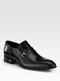 Versace Collection - Leather Loafers