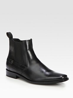 BOSS Black - Leather Laxis Boot
