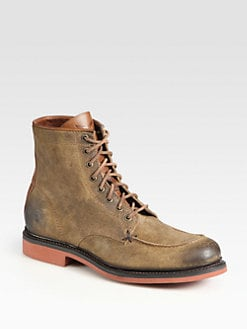Frye - Wallace Lace-Up Ankle Boots