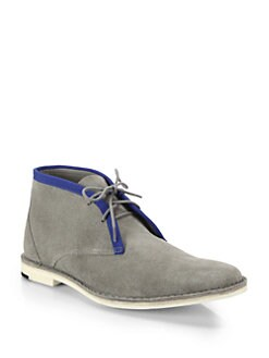 Pierre Hardy Suede Chukka Boots