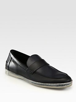 Fendi - Leather Moccasin