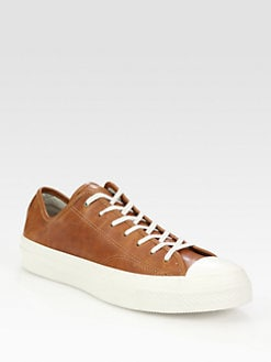 Converse - Chuck Taylor Leather High Rand Oxfords