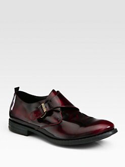 McQ Alexander McQueen - Leather Monkstrap Loafer