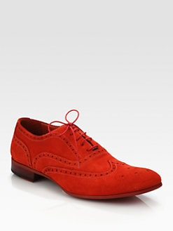Paul Smith - Miller Suede Brogues