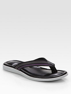Paul Smith - Taulua Leather Flip Flops