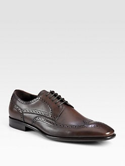 BOSS Black - Metrios Brogue Wingtip Lace-Ups