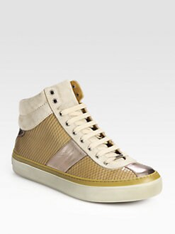 Jimmy Choo - Belgravi High-Top Sneakers
