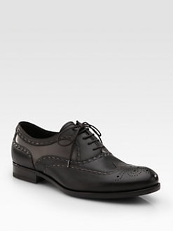 Bottega Veneta - Leather Lace-Ups