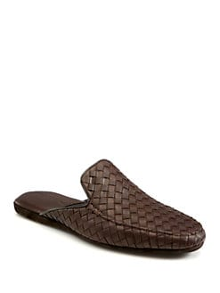 Bottega Veneta - Leather Slippers