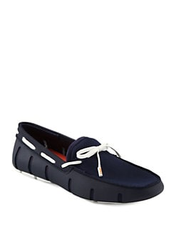 Swims - Rubber and Mesh Loafers