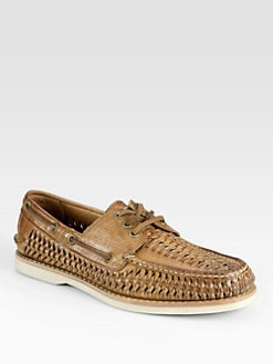 Frye - Sully Woven Boat Shoes