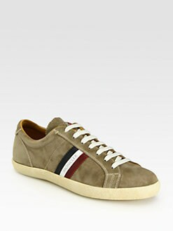 Moncler - Monaco Suede Sneakers