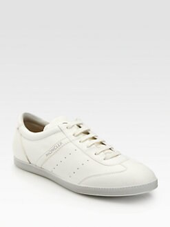 Moncler - New Biarritz Leather Sneakers