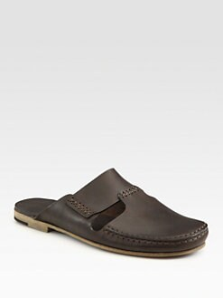 Bottega Veneta - Leather Slipper