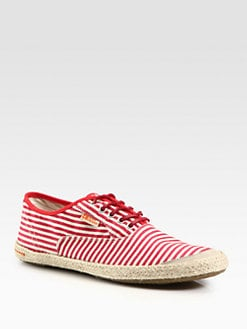Boss Orange - Striped Espadrilles