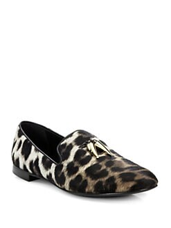 Giuseppe Zanotti - Naomi Animal Smoking Slippers