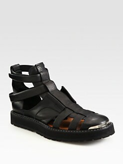 Neil Barrett - Leather Sandals