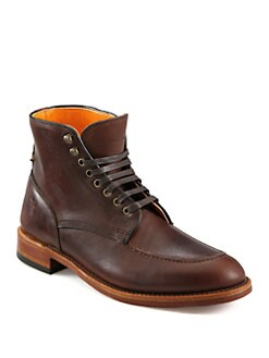 Frye - Walter Lace-Up Leather Boots