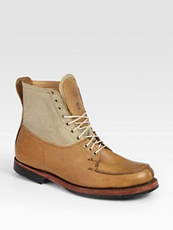 Timberland Boot Company - Leather Lace-Up Boots
