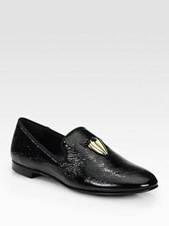 Giuseppe Zanotti - Horn Tassel Smoking Slippers