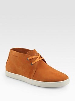 Boss Orange - Loxio Suede Chukka Sneakers