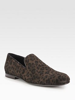 Jimmy Choo - Sloane Leopard Slipper Shoe
