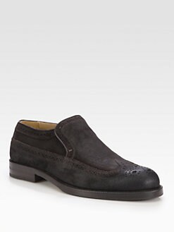 Jimmy Choo - Cromwell Brogue Slip-on