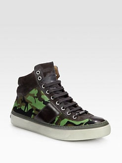 Jimmy Choo - Belgravi High-Top Sneaker