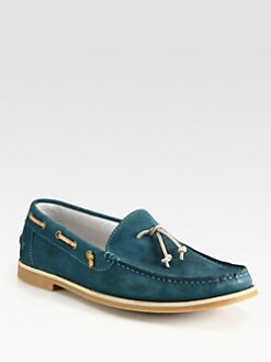 Boss Orange - Cobrano Suede Boat Shoes