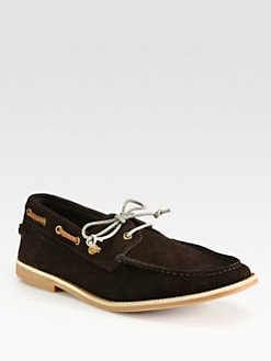 Boss Orange - Cobrion Suede Boat Shoes