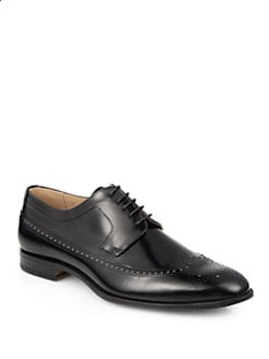 Maison Martin Margiela - Reflective Patent Leather Brogues