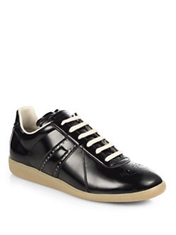 Maison Martin Margiela - Reflective Lace-Up Sneakers