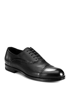 Bottega Veneta - Leather Captoe Oxford