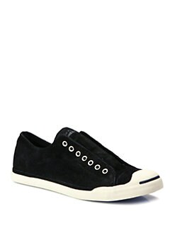 Converse - Jack Purcell Burnished Suede Slip-On Sneaker