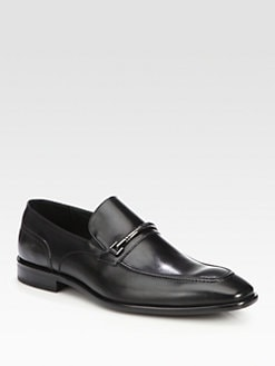 BOSS Black - Metono Leather Loafer