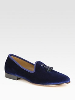 Del Toro - Tassle Slipper Shoe